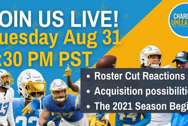 Chargers Unleashed Live