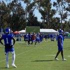 Los Angeles Rams Wide Receiver DeSean Jackson During 2021 Training Camp. Photo Credit: Ryan Dyrud   LAFB Network