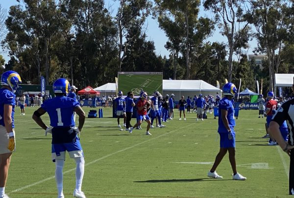 Los Angeles Rams Wide Receiver DeSean Jackson During 2021 Training Camp. Photo Credit: Ryan Dyrud | LAFB Network