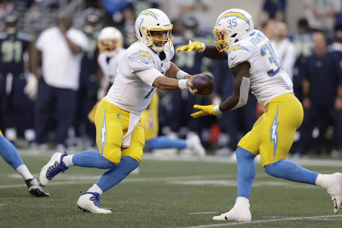 Chargers Conclude Preseason Schedule Against Seahawks