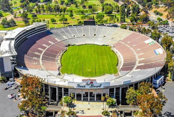 Rose Bowl, Lot H, in Pasadena, California, is one of the few places in the United States where you can fly a drone legally. Photo Credit: Ted Eytan | Creative Commons License