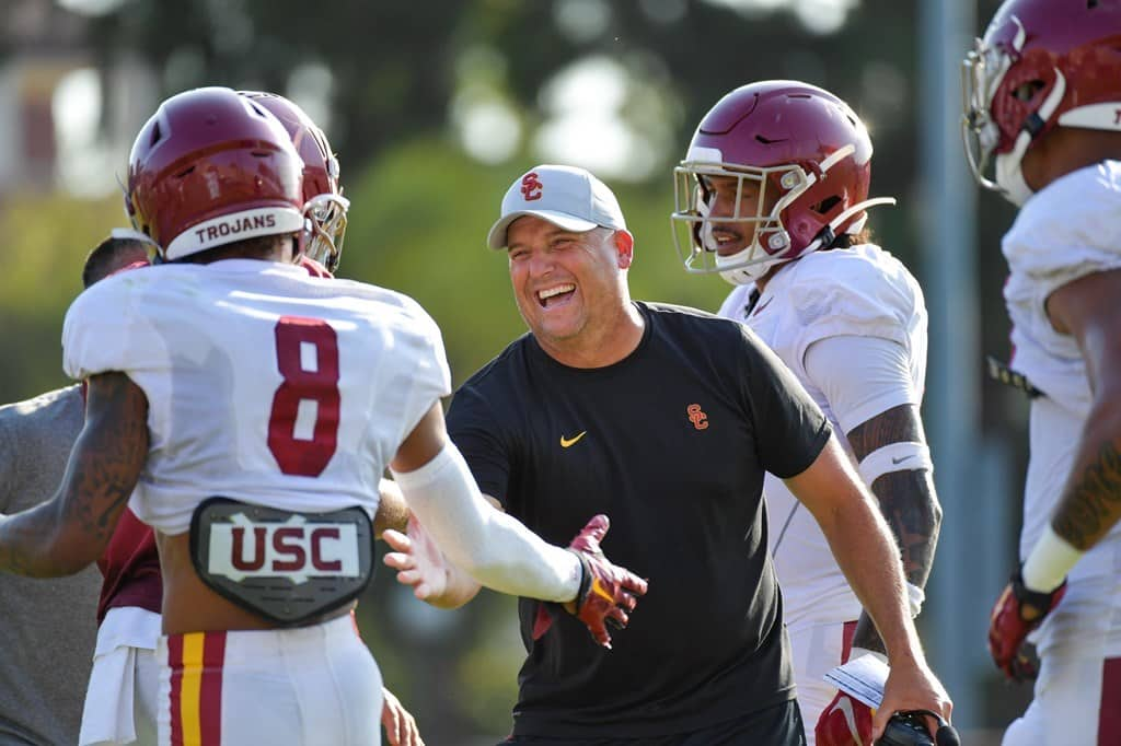 BREAKING: USC Athletic Director Announces Decision To Fire Clay Helton
