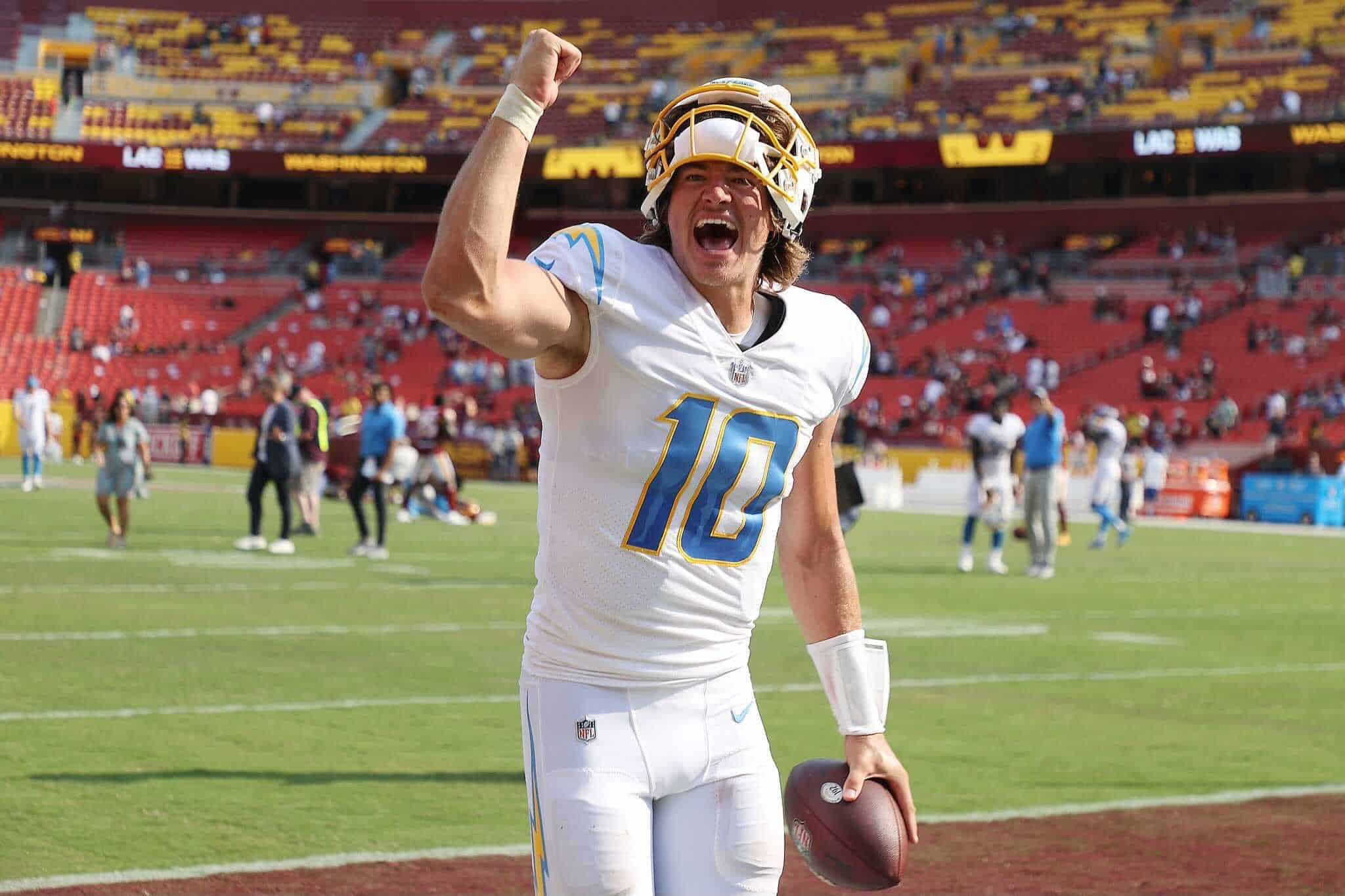 Chargers Beat Washington Football Team: By The Numbers