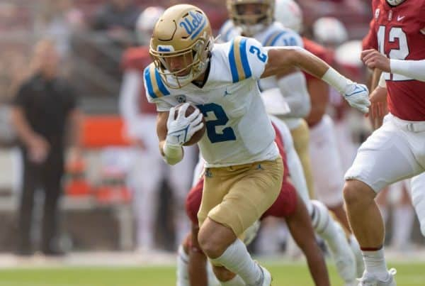UCLA Bruins Wide Receiver Kyle Philips. Photo Credit: Stan Szeto | USA Today Sports | UCLA Athletics