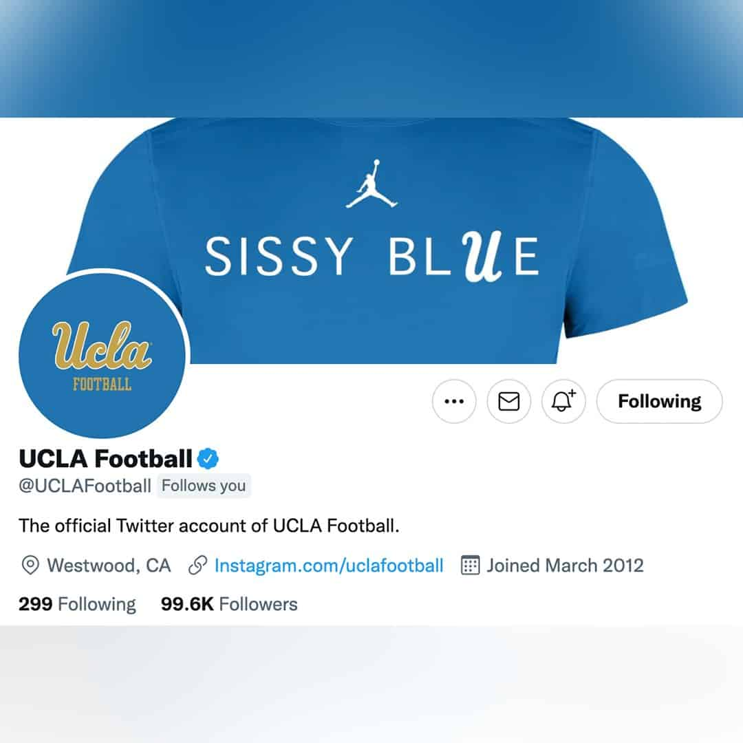 """From """"Sissy Blue Shirts"""" to Bruin Blue Collars"""