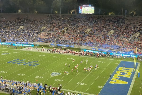 UCLA Bruins Lose To The Fresno State Bulldogs At The Rose Bowl. Photo Credit: Ryan Dyrud | LAFB Network