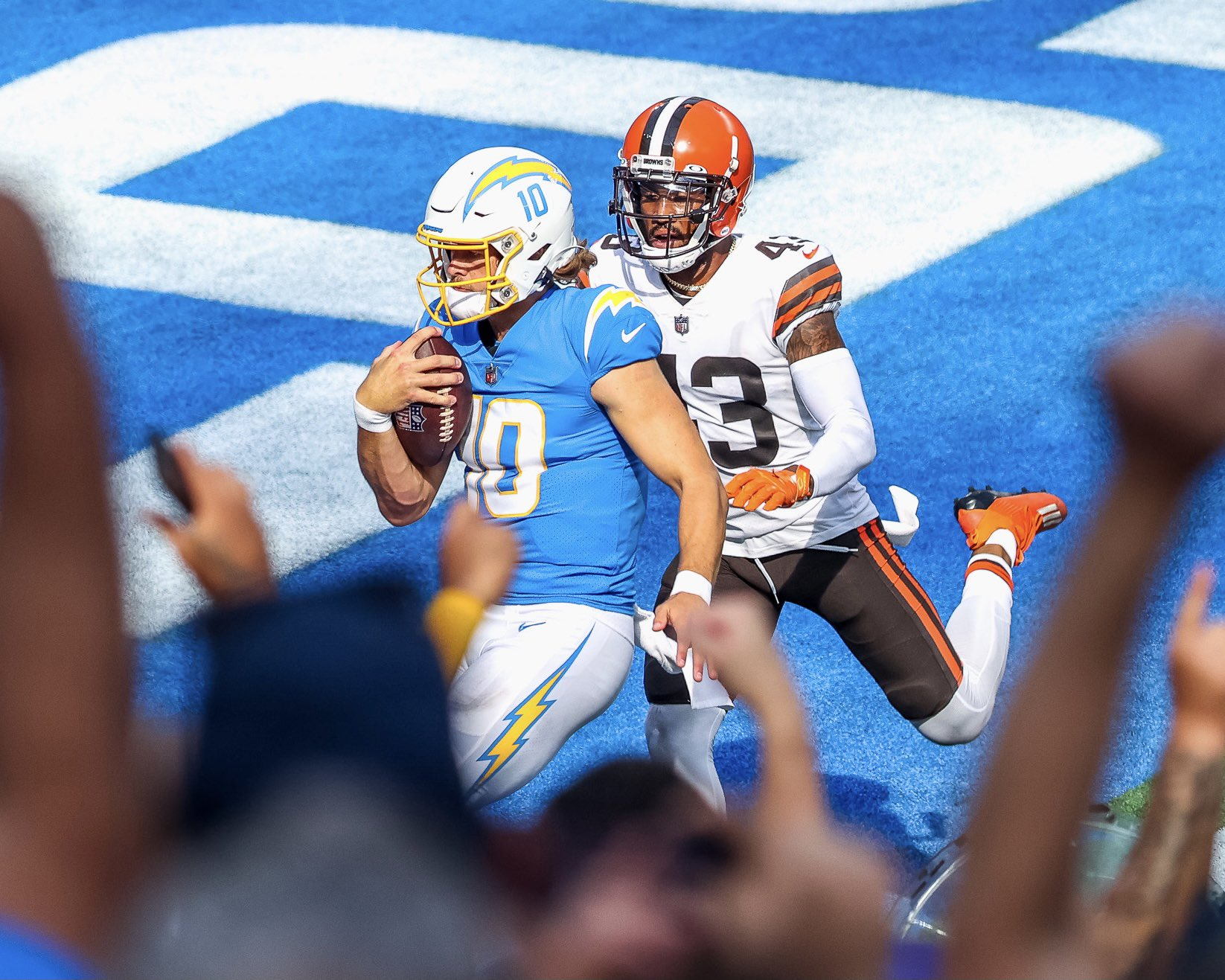 Justin Herbert Proves To Be Too Much; Chargers Take Down The Browns