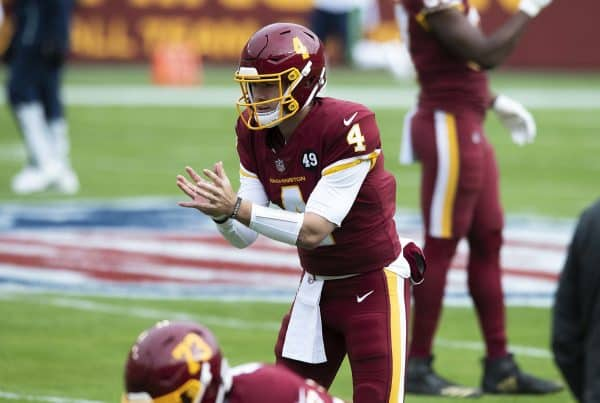 www.allproreels@gmail.com -- from the Washington Football Team vs. Seattle Seahawks at FedEx Field, Landover, Maryland, December 20, 2020 (All-Pro Reels Photography)