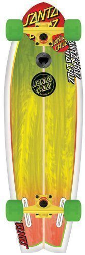 Santa Cruz Skate Land Shark Rasta Sk8 Complete Skate Boards