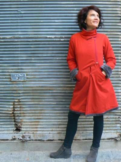 Manteau Kali Yog Tibetan, Red, www.LaTribu.shop