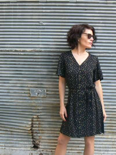 Robe Princesse Nomade Amel 5, Black, www.LaTribu.shop