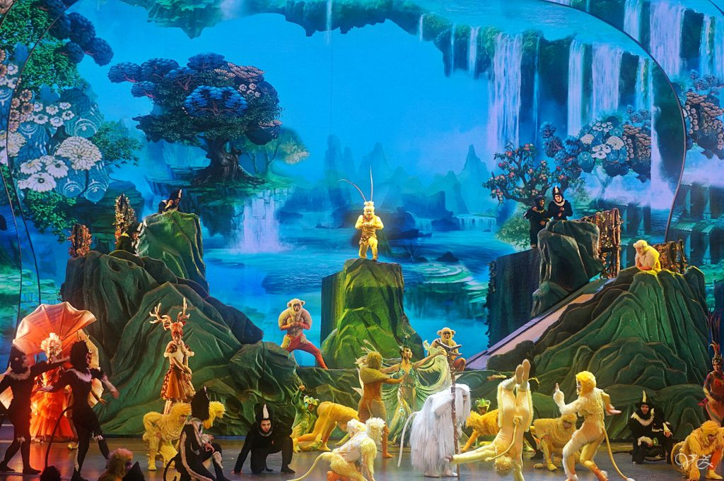 Monkey King Show in Sands Cotai Macao