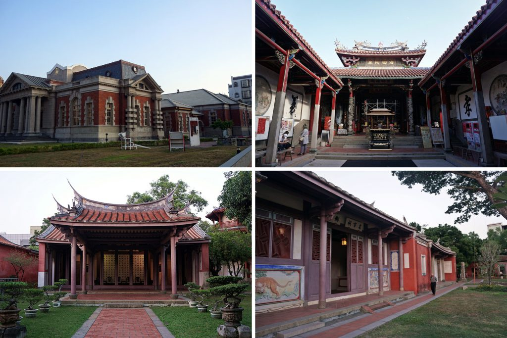 temples in tainan