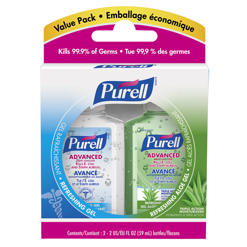 Purell Instant Hand Sanitizer Value Pack Original 2x59ml