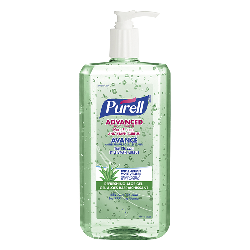 Purell Advanced Hand Sanitizer Gel Refreshing Aloe 1l London