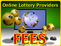 Online lottery providers comissions
