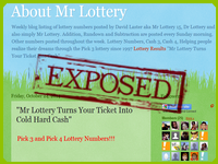 Mr Lottery System