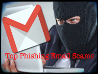 Top Phishing Email Scams