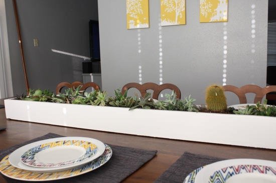 Instructions for easy succulent centerpieces