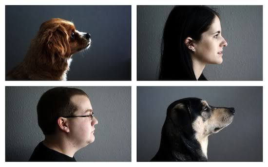 Profile images for DIY silhouettes