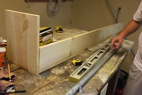 How to build a fixture box for DIY chandelier