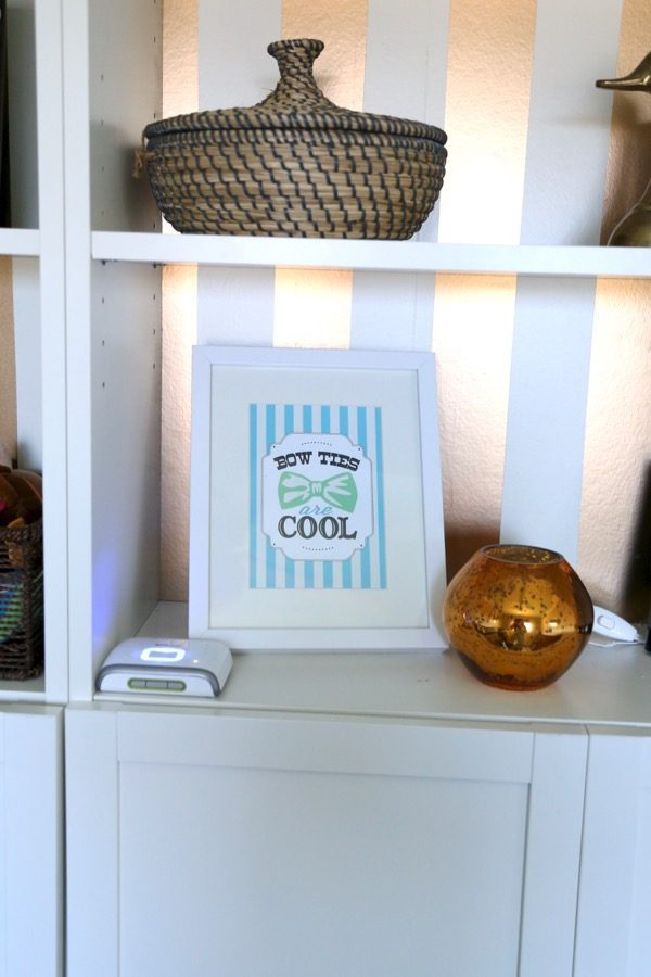 a gorgeous and simple nursery reveal