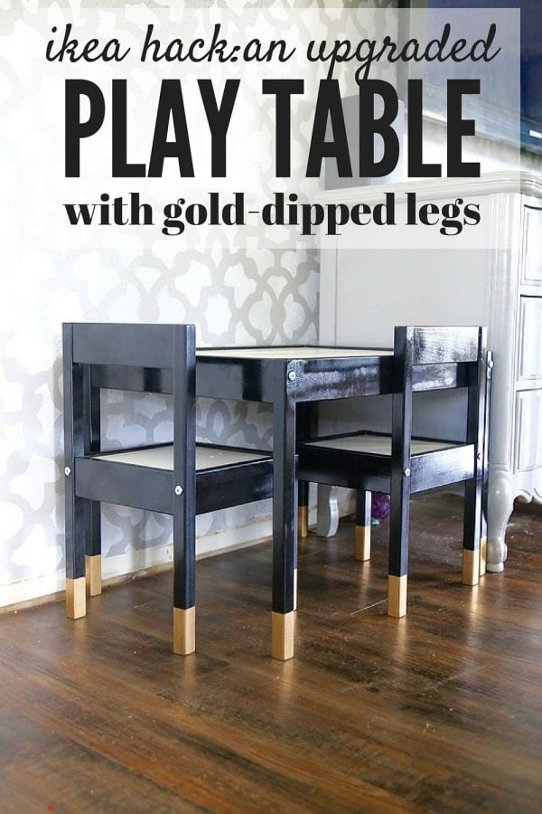 ideas for hacking an IKEA play table