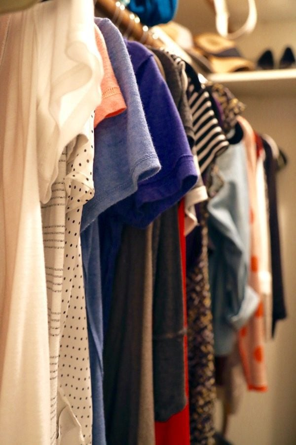 Using the KonMari method for your clothes