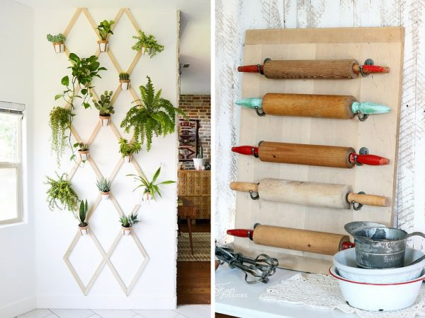 DIY idea for art in the kitchen