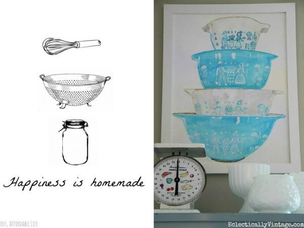 Kitchen art free printable