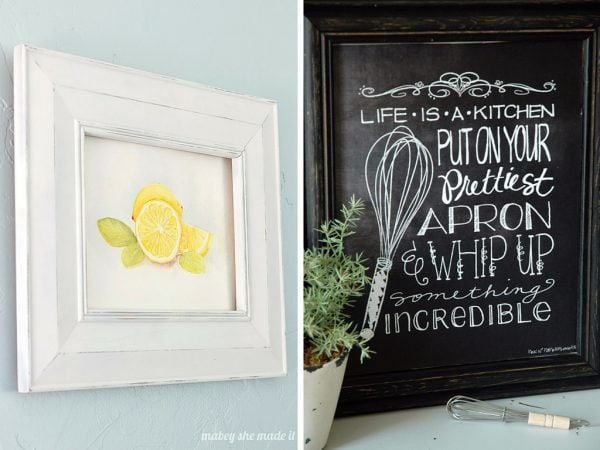 Free printable art for kitchen
