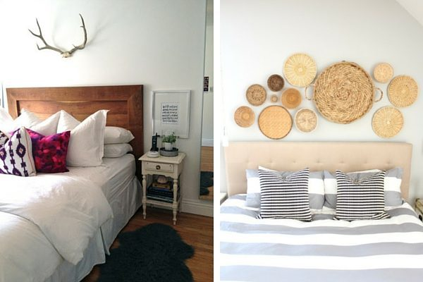 Tips for decor above bed