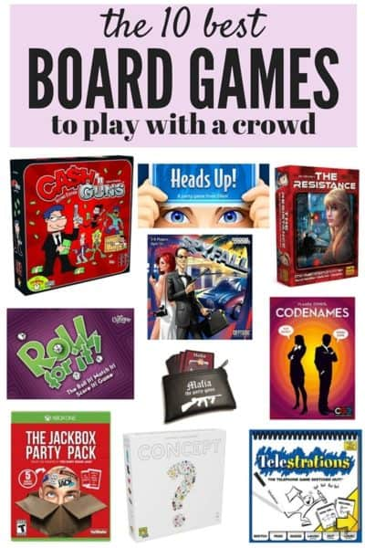 A roundup of 10 fun, silly, and unique games that are perfect to play with a crowd. This list will ensure that your next party is a ton of fun.