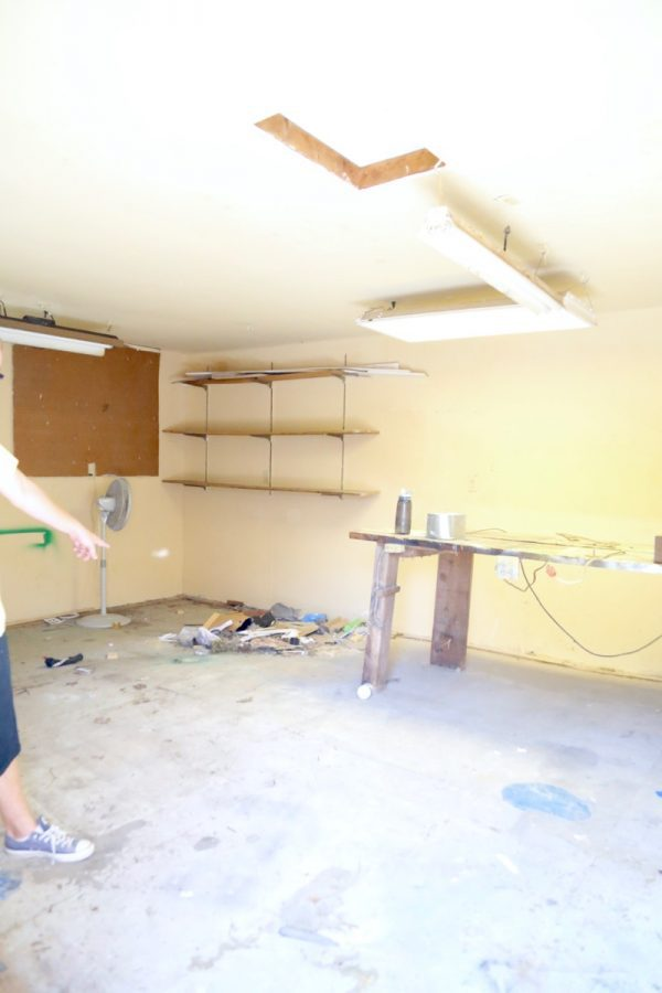 The story of a workshop in desperate need of organization and how this family got it done.