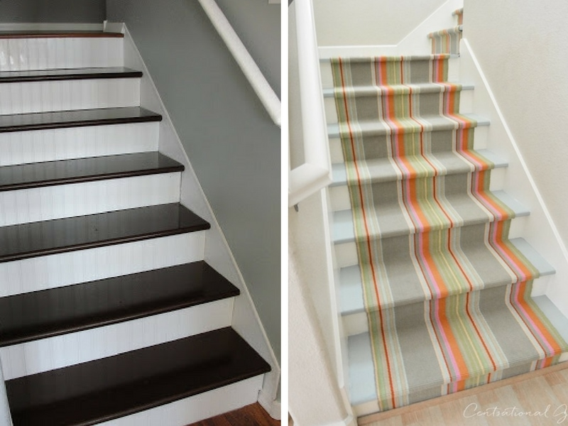staircase ideas - how to makeover your stairs