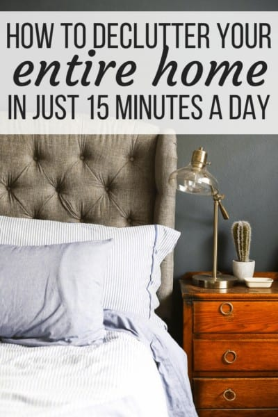 declutter your home tips