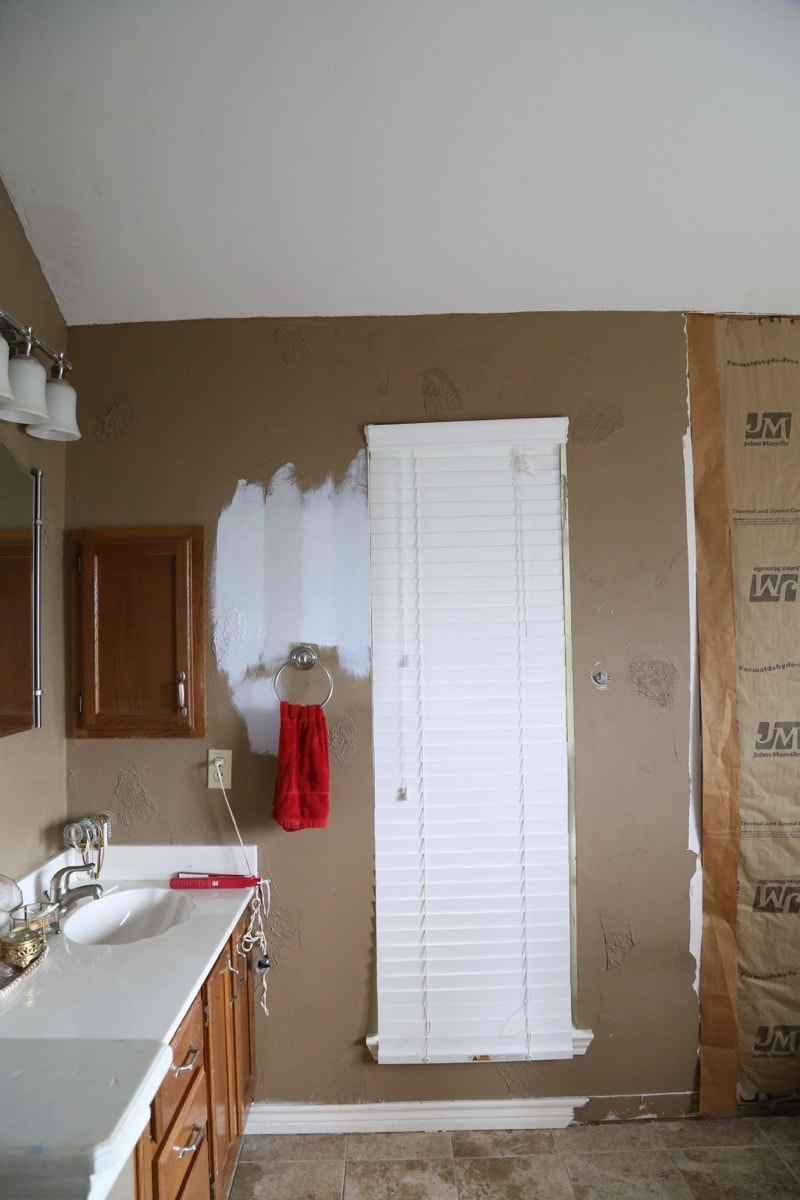 One Room Challenge Fall 2016 Part 1 - A look at the BEFORE photos of this master bathroom. It's getting a complete gut job for the ORC!