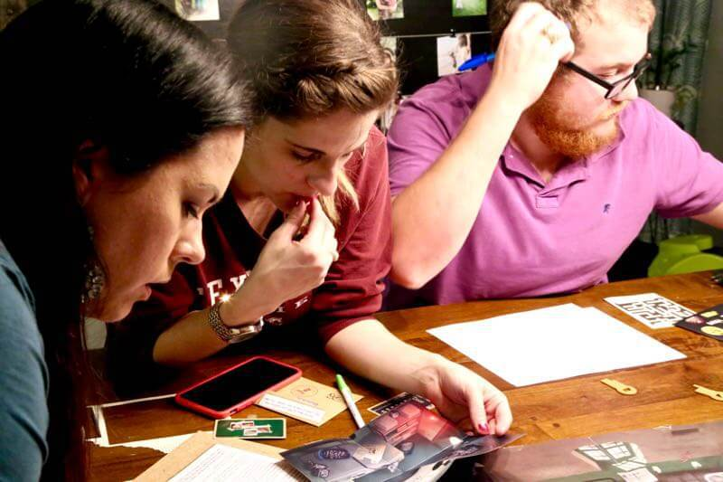 A review of Escape Room: The Game - a really fun way to bring the experience of an escape room to your home. This puzzle game is so much fun, so exciting, and one you'll never get tired of playing with your friends!