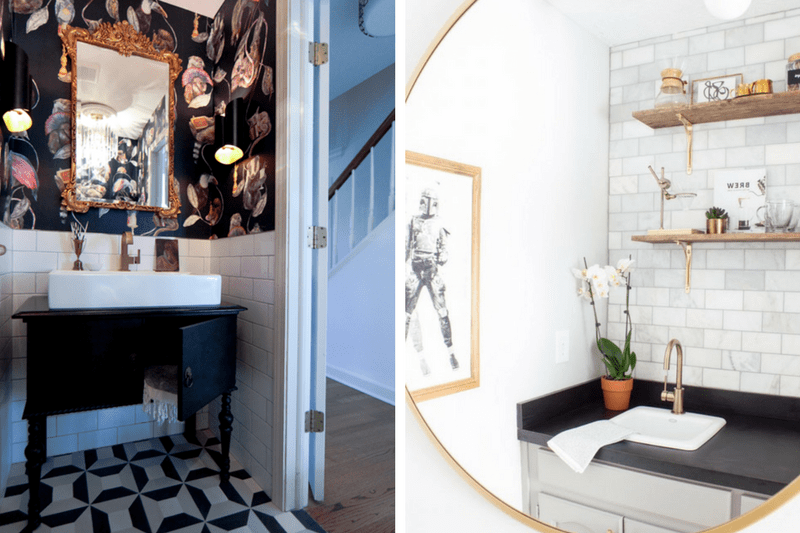 A roundup of some of the best reveals from the 2016 One Room Challenge. These room renovations are incredible!
