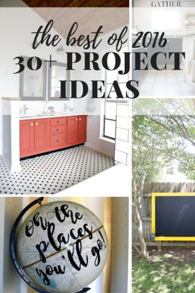 So many great project ideas - they're simple, beautiful, and totally accessible for the average homeowner! So much inspiration here!