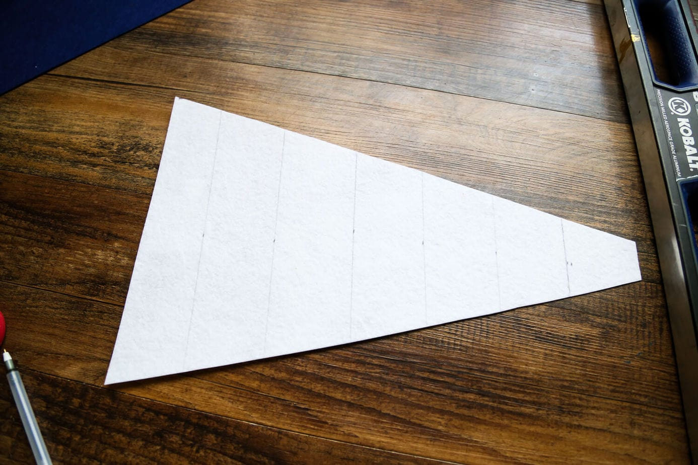 How to create a simple felt pennant