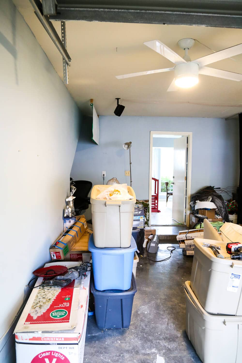 tips for converting a media room back into a garage