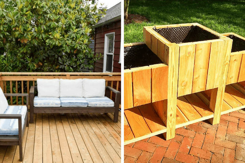 Gorgeous DIY outdoor furniture ideas