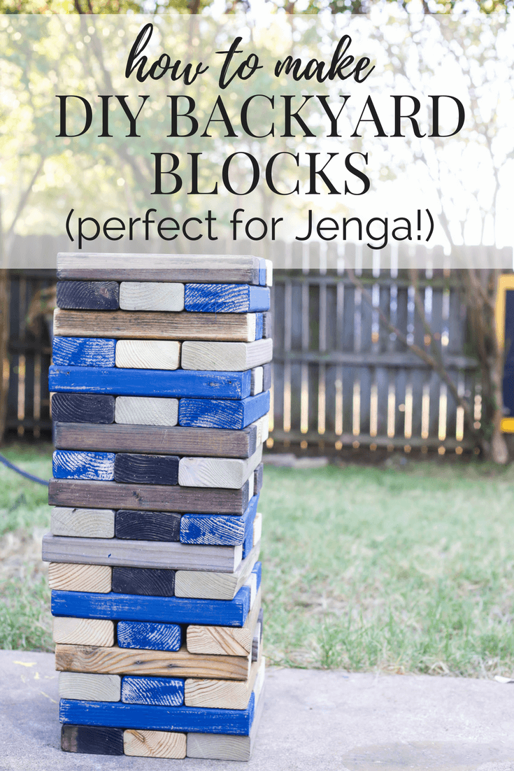 Diy Lawn Games Backyard Blocks Love Renovations