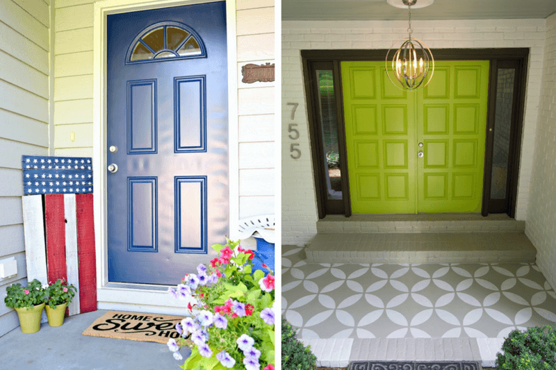 Tips and tricks for a small front porch