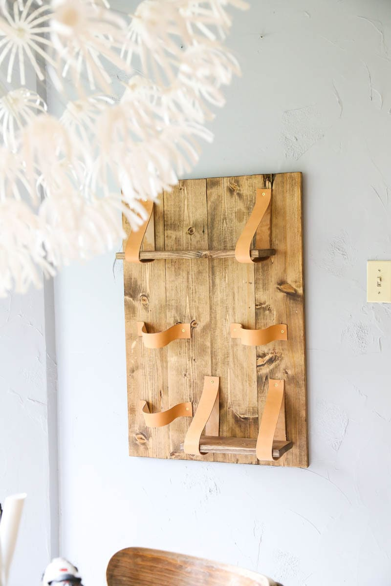 The process of creating and installing a DIY vertical wall planter