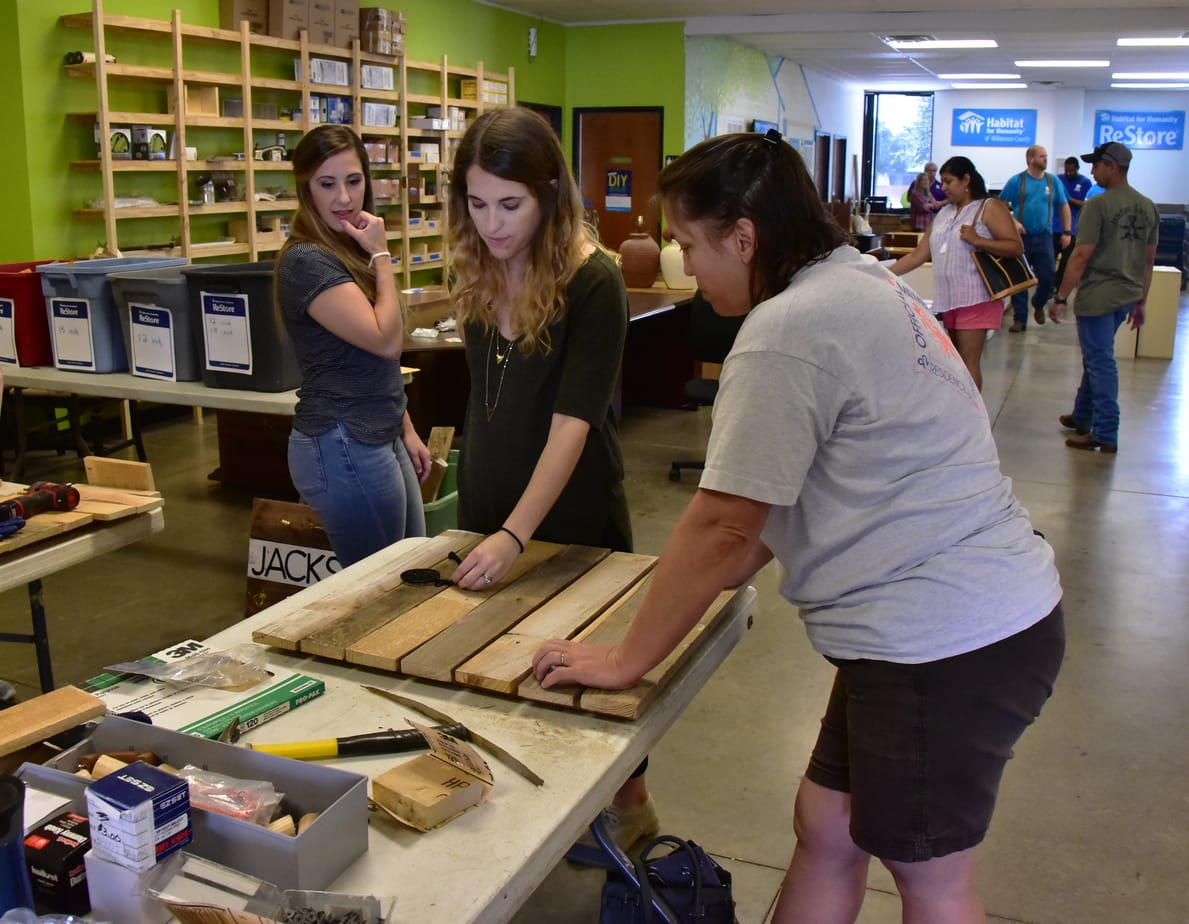 DIY At Habitat for Humanity in Round Rock, Texas  Sept 2017