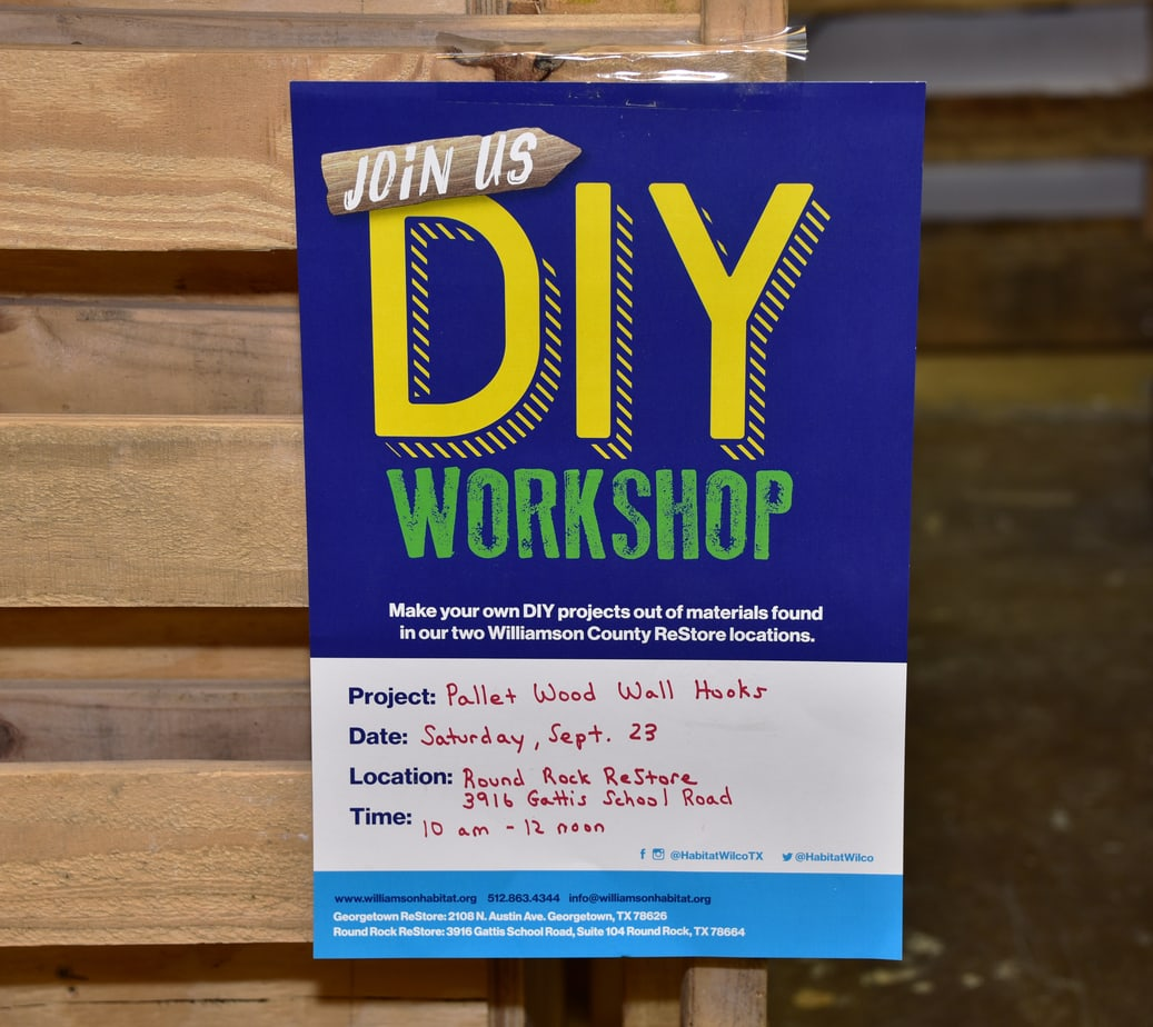 DIY At Habitat for Humanity in Round Rock, Texas