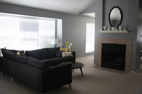 Before living room photo