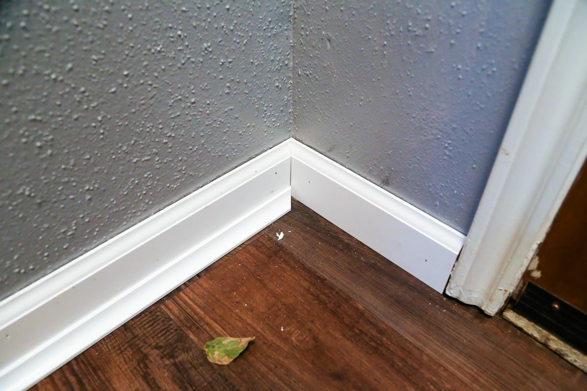 Easy DIY tutorial for how to install baseboards in your house
